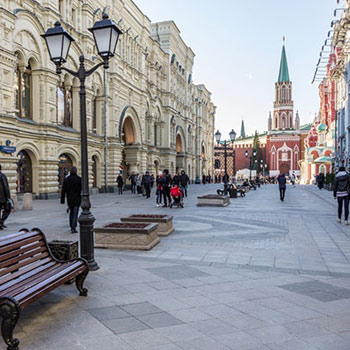 Пешеходная экскурсия по центру Москвы