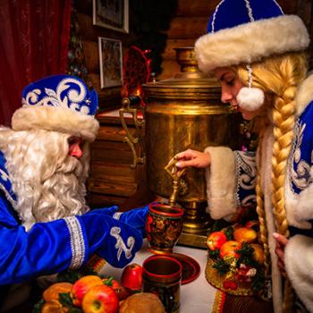 Чаепитие у Деда Мороза в Кузьминках