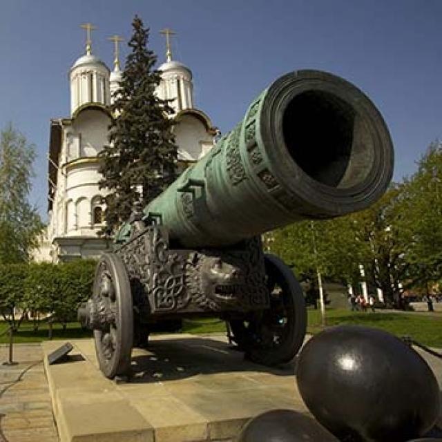 Московский Кремль: территория