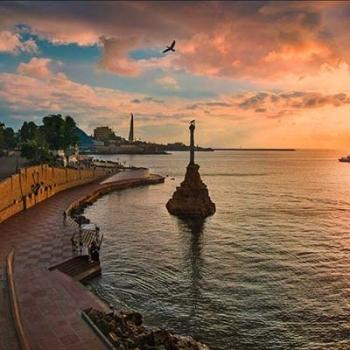 Русский город-герой Севастополь